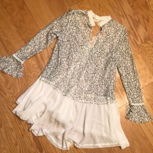 Tops - Free People Sheer Lace Tunic